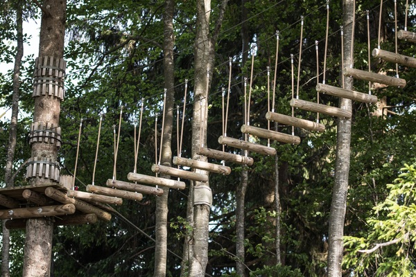 Ms Kapoor noticed how wood climbing frames are replacing metal structures