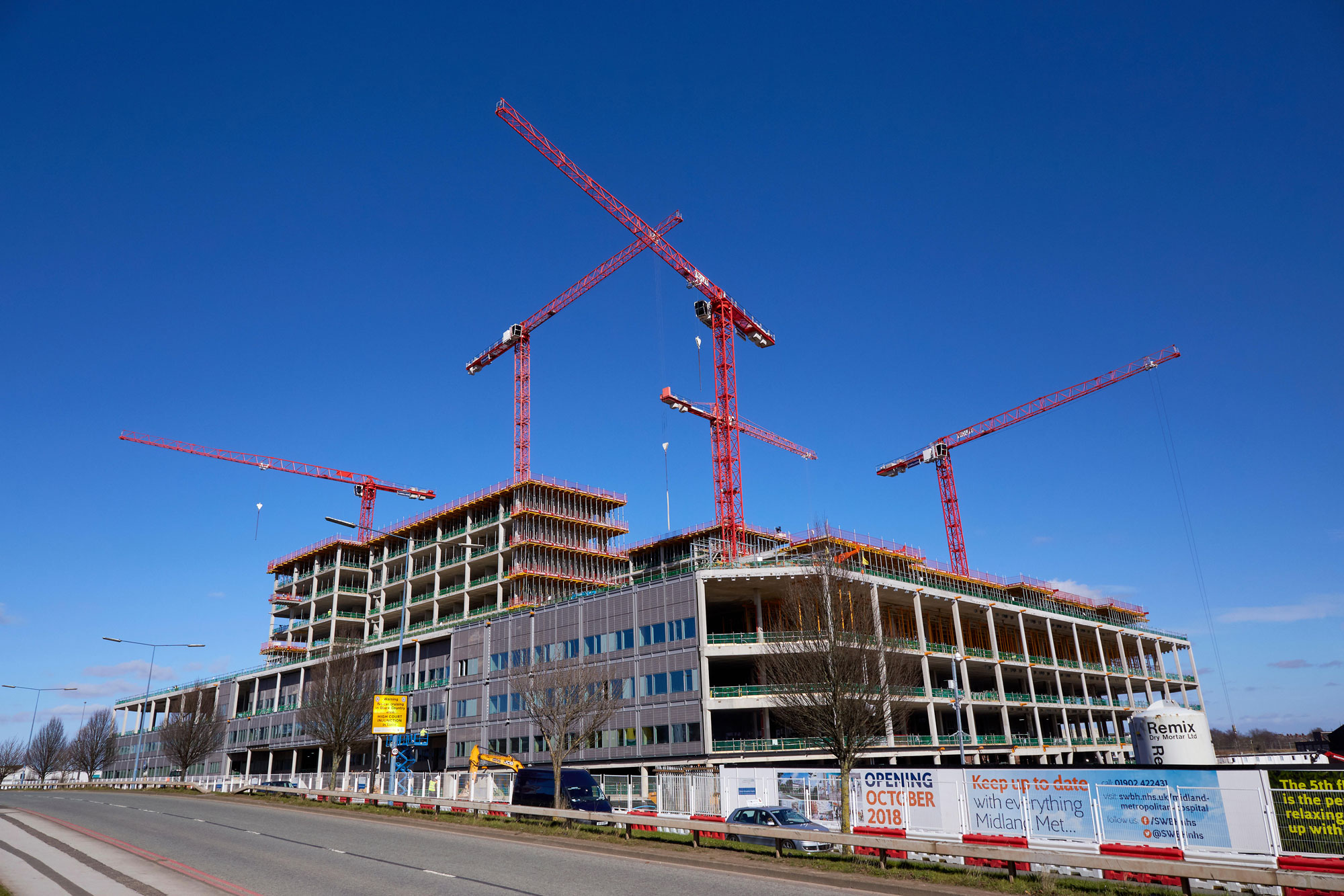 Midland Metropolitan Hospital cost £353m but may never be completed. Photo: Jon Lewis/Alamy
