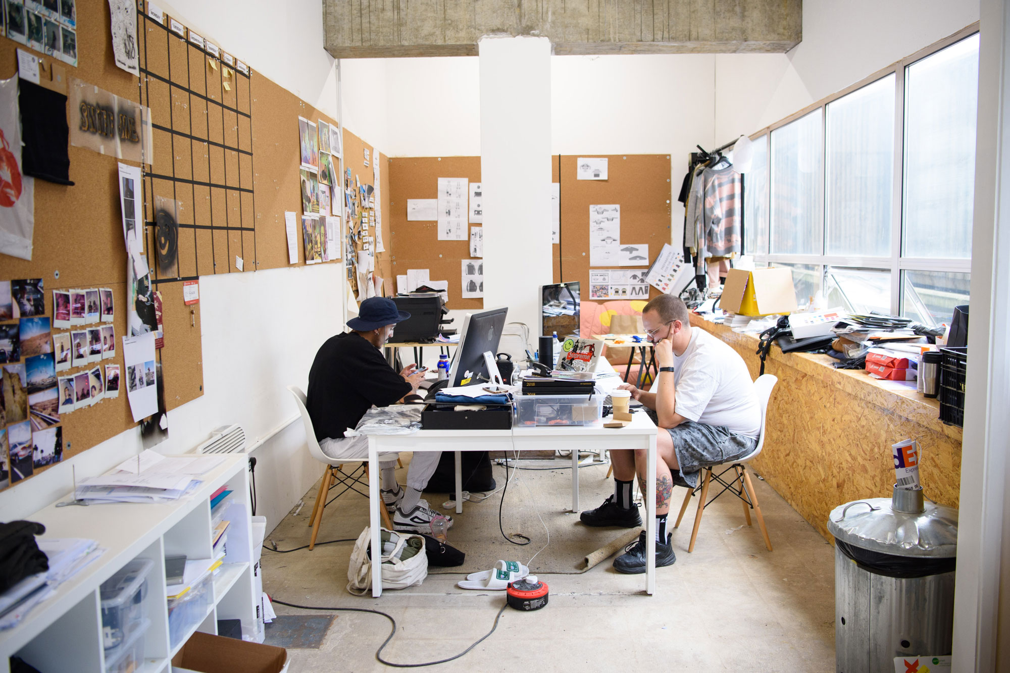 Creatives will put up with raw spaces for cheap rents Photo Matt Crossick