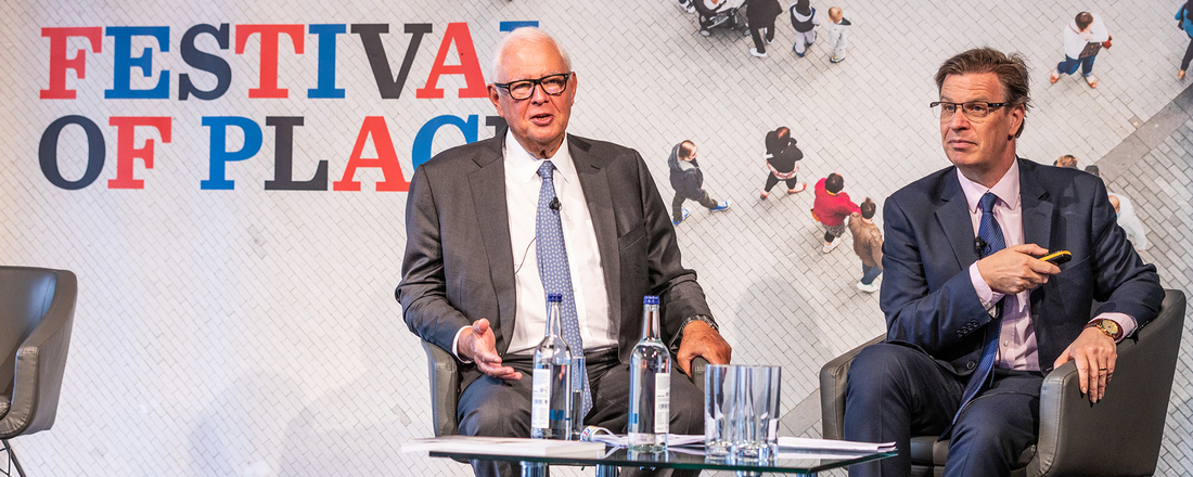 Sir Stuart Lipton at the Festival of Place 2019