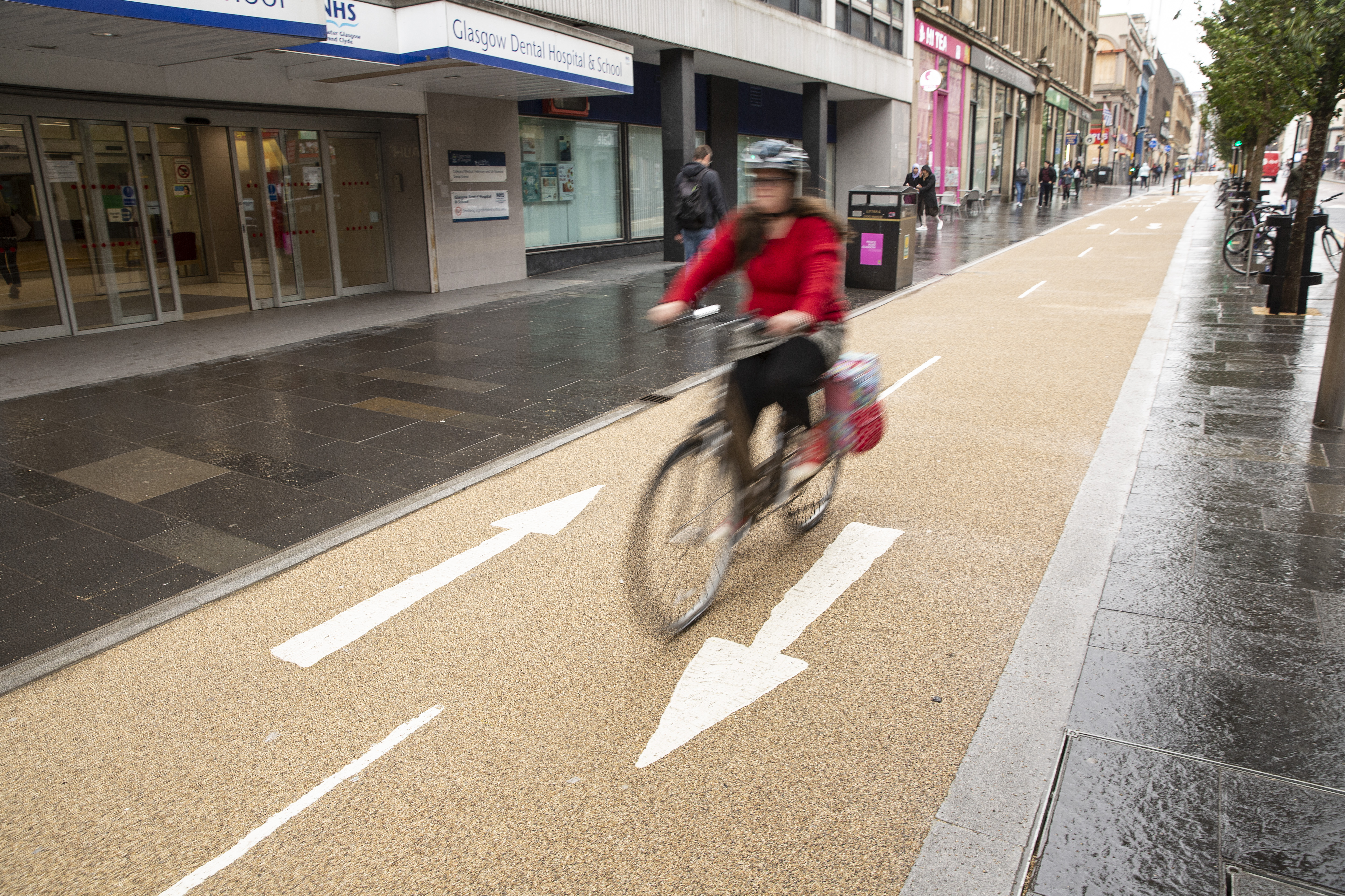 The council is investing in cycling and walking improvements