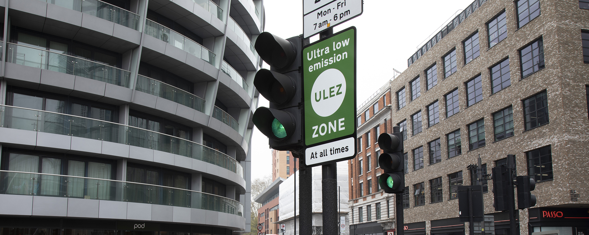 London's Ultra Low Emission Zone was introduced in April 2019