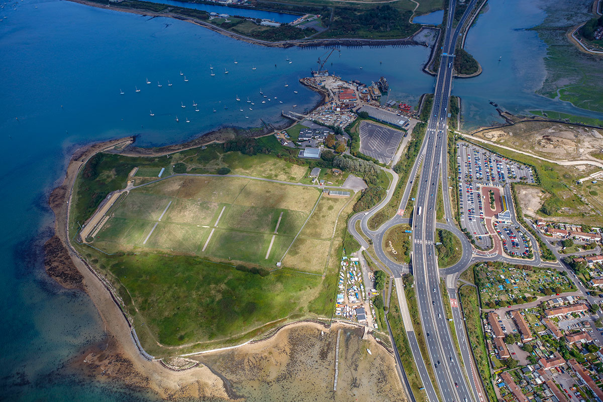 Tipner West is a 140-acre strategic, visual and economic gateway to Portsmouth