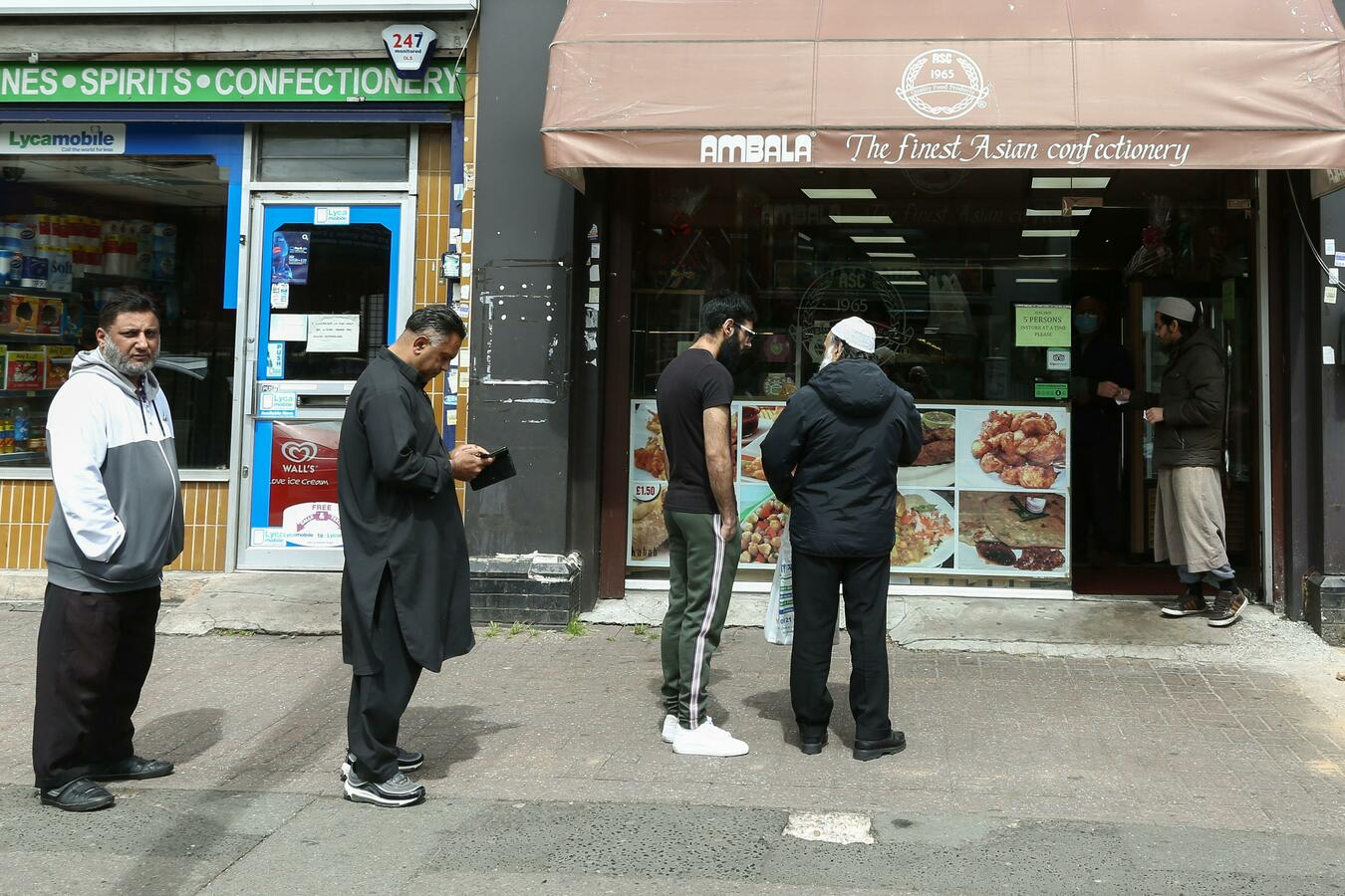 Birmingham, 23 May: People from BAME communities are more likely to live in poorer areas. Photo: Pet