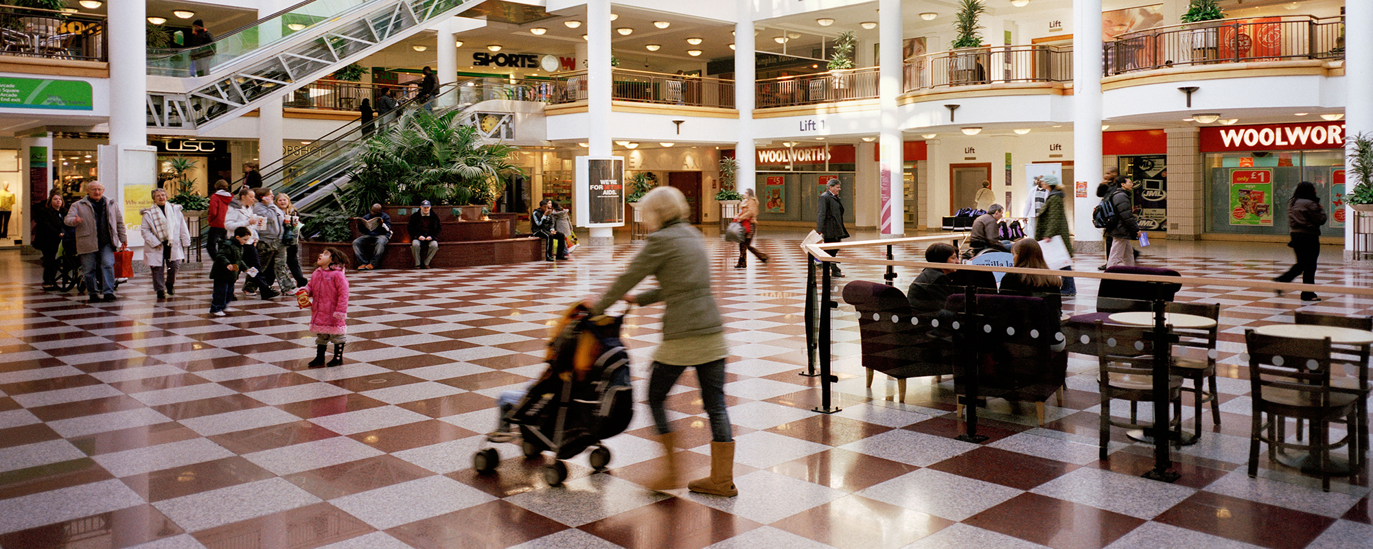 Arts groups have taken over a furniture store at Croydons Whitgift Centre. Photo: Alamy