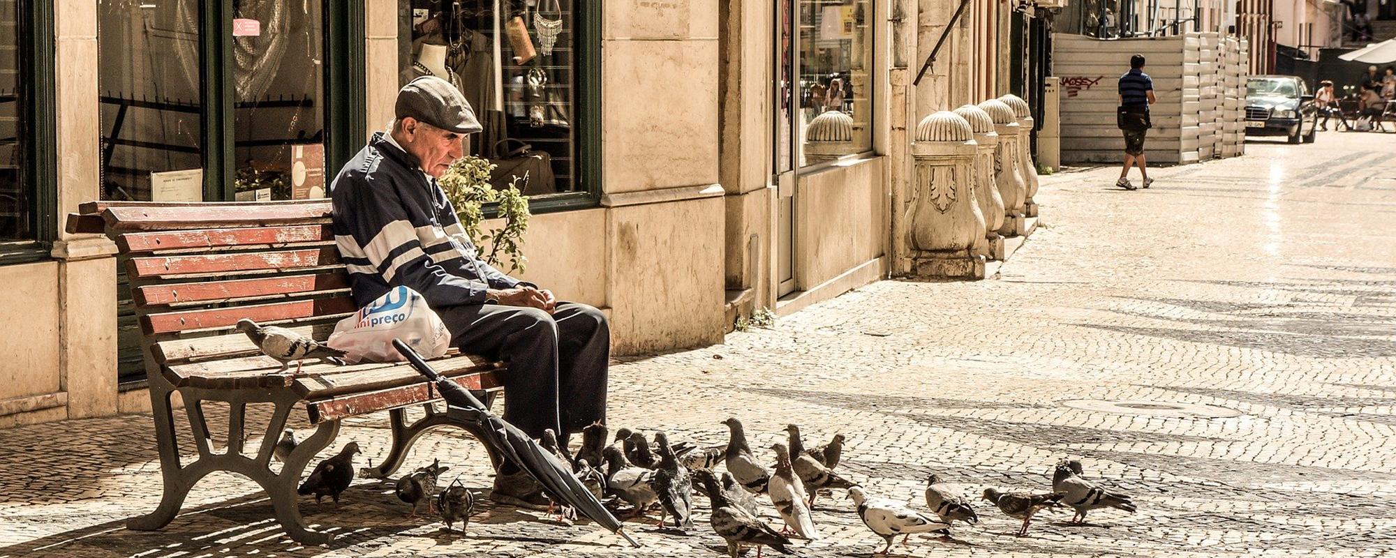 Cities need to become age-friendly. Image by Stocksnap on Pixabay