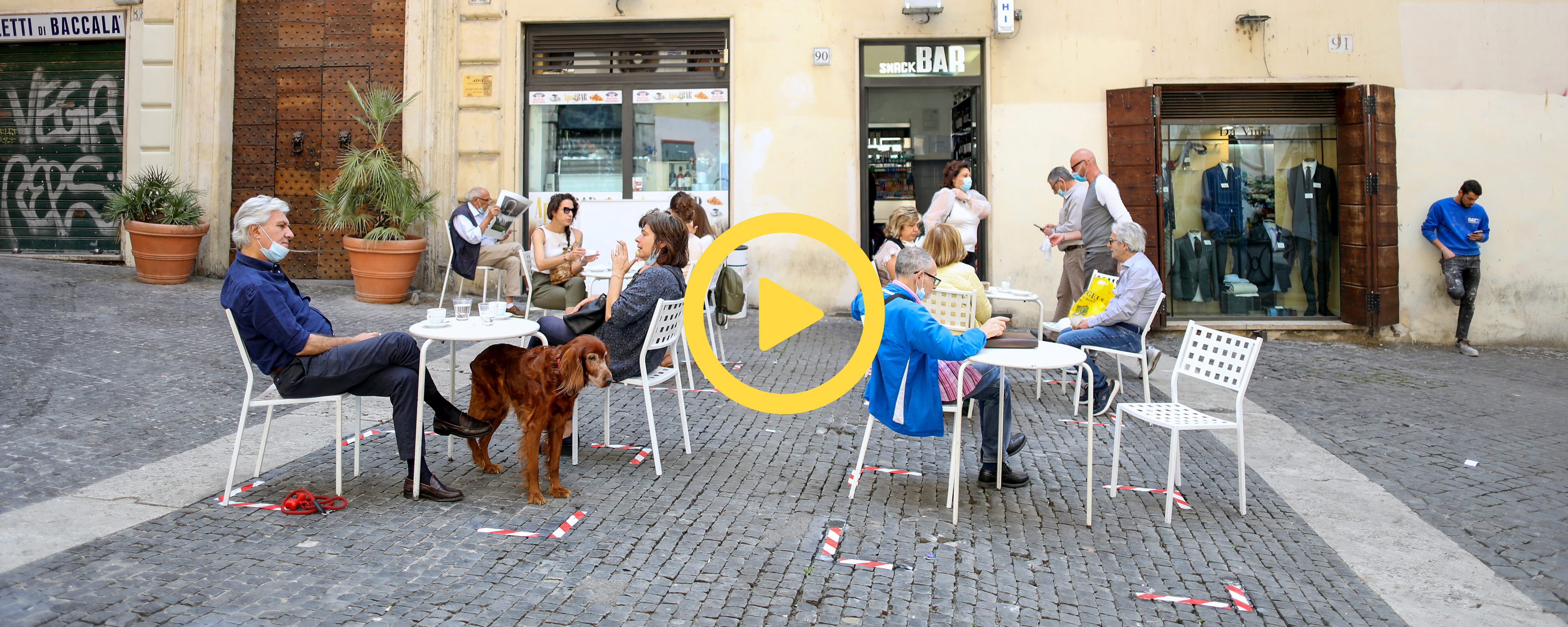 Watch the talk: Physical distancing and sociality in urban space